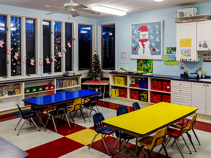 The Learning Center Daycare classroom